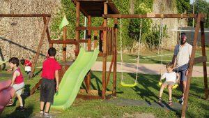 L'inaugurazione del parco giochi a Filetto (foto Massimo Pasquali)