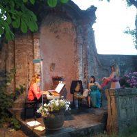 Concerto lirico nei giardini di Palazzo Fantoni