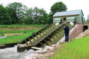 Un esempio di minihydro, una piccola centrale idroelettrica