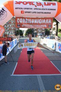 La vincitrice del settore femminile Isabella Morlini