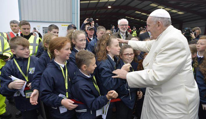 Papa Francesco in Irlanda per l'incontro delle famiglie