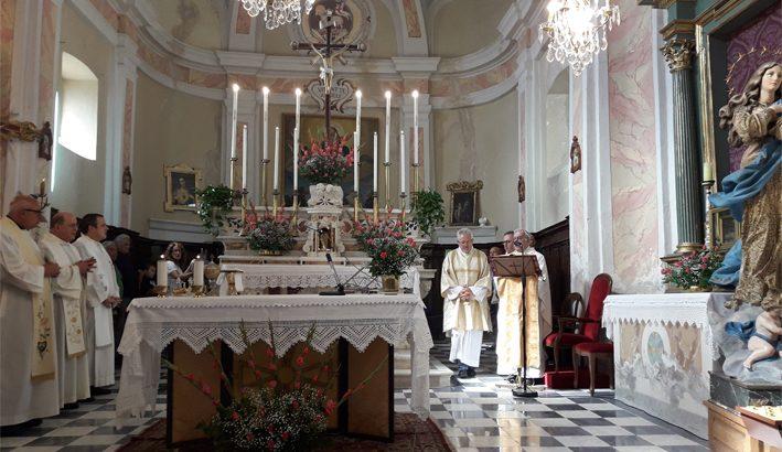 La chiesa di Argigliano restituita alla comunità parrocchiale