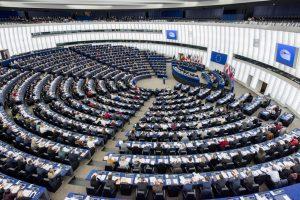 General view of plenary session Week 3 2017 in Strasbourg
