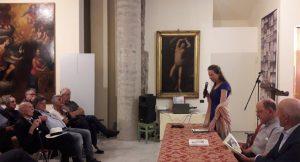 Un momento dell'incontro che si è svolto a Fivizzano nel Museo di San Giovanni