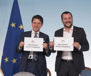 36Conte_Salvini_decreto_sicurezza