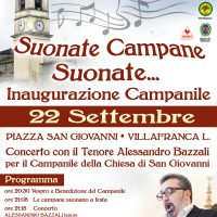 Ristrutturato il campanile di S. Giovanni a Villafranca