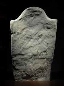 Una delle stele menhir (III millennio a.C.)