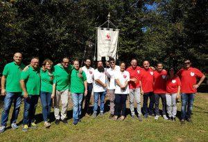 Foto di gruppo dei donatori Fratres di Mulazzo