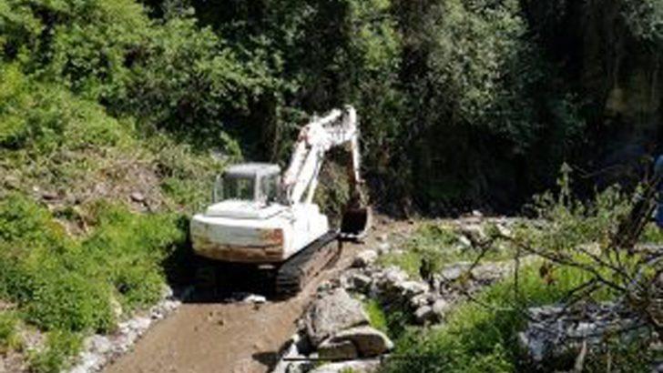 Comano: terminati i lavori al canale di Ardenasso