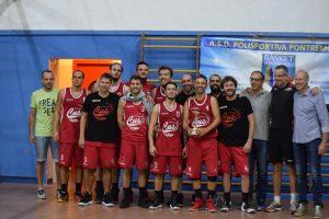 """La formazione del Cus Parma vincitrice del Memorial """"Borzacca"""""""
