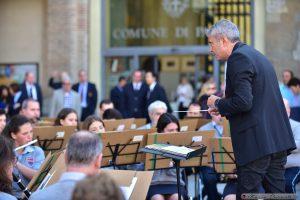 Il concerto della Musica Cittadina diretta dal maestro Riccardo Madoni