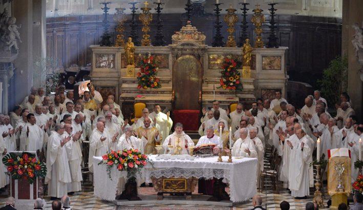 Il cardinale Betori alla festa del patrono della diocesi