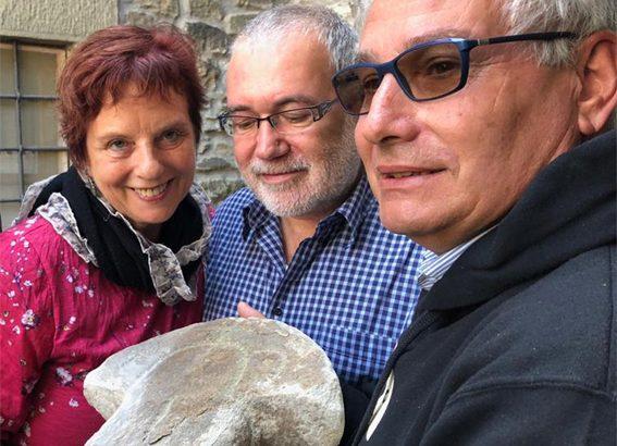 È giunta al Museo delle Statue Stele la bellissima testa fino ad oggi a Caprio