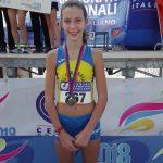 Anna Simoncelli seconda classificata nella categoria Ragazze
