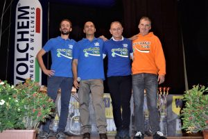 Il gruppo dell'Endurance tour