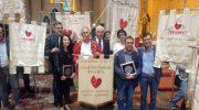 Due donatori lunigianesi premiati a Figline Valdarno