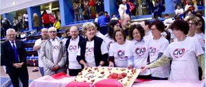 Il gruppo degli organizzatori della giornata