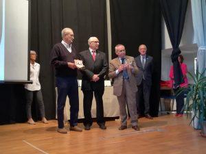 La premiazione di Enrico Albertosi