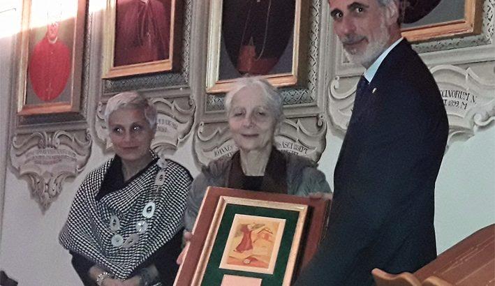 Penna dello Spirito, il premio a Antonella Lumini, la Custode del Silenzio