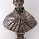 Carrara: reliquiario a busto raffigurante San Ceccardo  (XVII sec.)