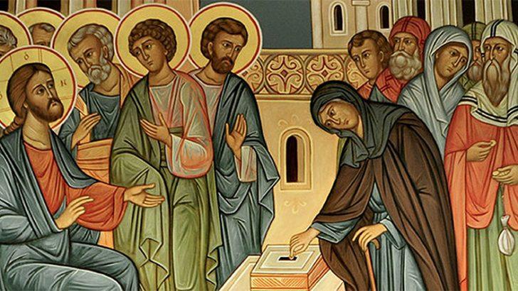 Loda il Signore, anima mia. Gli scribi, i farisei e la vedova
