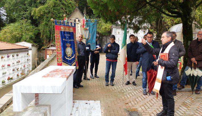 A Fosdinovo un altare per  don Florindo Bonomi