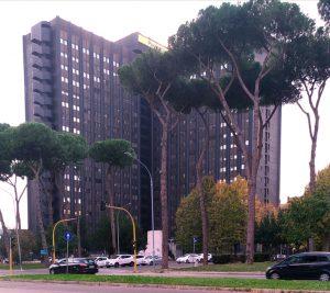 Roma. La direzione di Poste Italiane all'EUR