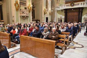 Il pubblico che ha partecipato al concerto in Concattedrale a Pontremoli