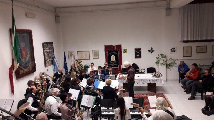 """La filarmonica """"S. Cecilia"""" di Casola in festa per 110 anni di attività musicale"""