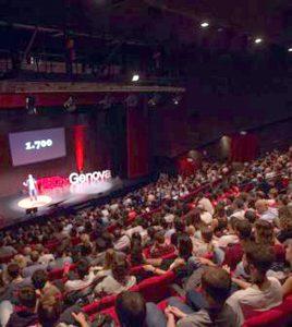 Un esempio di TedX a Genova nel 2017