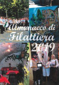 La copertina dell'Almanacco di Filattiera 2019