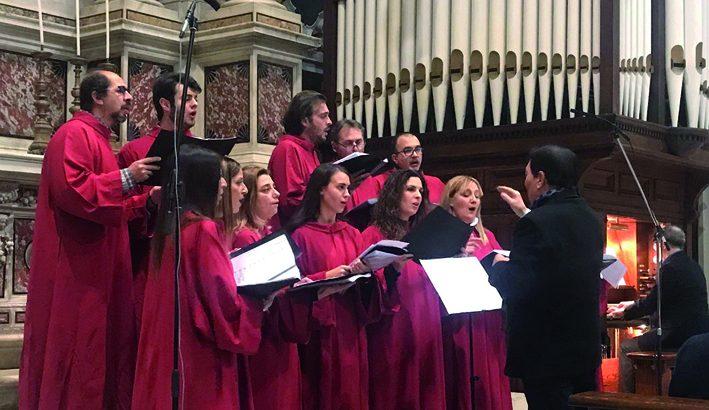 Il Coro Ars Antiqua  a Massa in onore della Immacolata Concezione