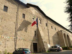 La sezione pontremolese dell'Archivio di Stato di Massa all'interno del convento della Santissima Annunziata
