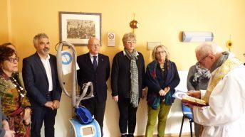 """Inaugurata all'ospedale di Pontremoli la cuffia """"refrigerante"""""""