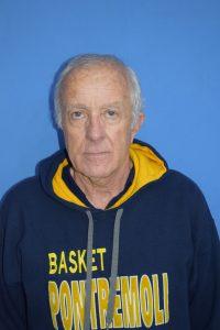 L'allenatore della Pontremolese Basket, Silvano Marcucci