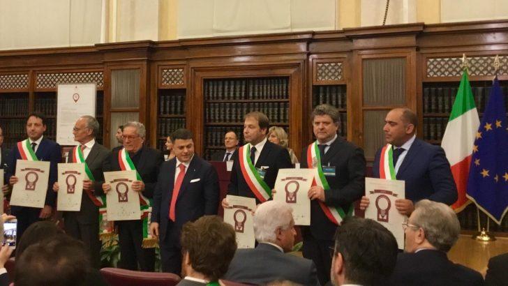 Due riconoscimenti al sindaco di Fivizzano Paolo Grassi