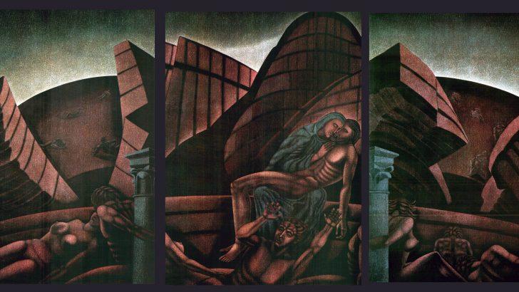 Fivizzano: merita una collocazione migliore il trittico di Loris Ricci