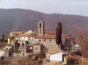 L'abitato di Cecina di Fivizzano