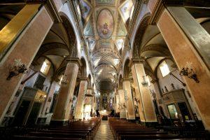 L'interno della cattedrale di Bastia (Foto Pascal Renuci)