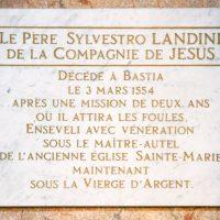 Padre Silvestro Landini: il gesuita che lega la Lunigiana alla Corsica
