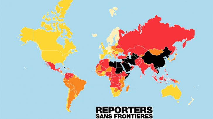 Ottanta giornalisti uccisi nel mondo nel 2018