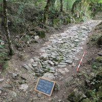 L'antica Via Romana scoperta con gli scavi a Forno di Versola