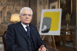 Il Presidente della Repubblica durante il discorso di fine anno. (foto di Francesco Ammendola)