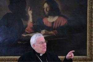 Roma, 14/1-2019 Cei Consiglio Permanente della conferenza Episcopale Italiana Prolusione iniziale  del Cardinale Presidente Gualtiero Bassetti Ph: Cristian Gennari