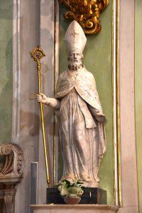 Pontremoli,Concattedrale: statua di San Geminiano