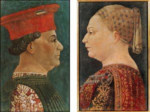 Ritratti di Francesco Sforza e Bianca Maria Visconti