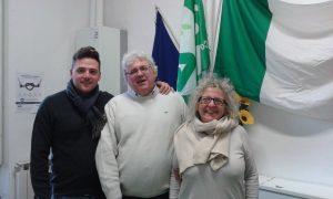 Da sinistra: Luca Simoncini, vice Presidente di Cia Toscana Nord, Maurizio Veroni, vice direttore Cia Massa Carrara e Annalisa Folloni, sindaco di Filattiera