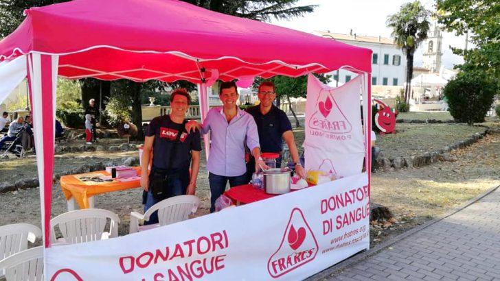 Fratres: sfiorato il traguardo delle 1.200 donazioni di sangue