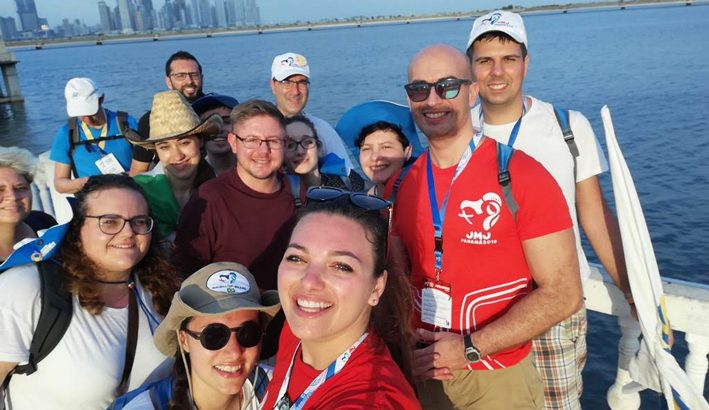 Da Panama le immagini dei giovani della nostra diocesi