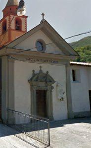 La facciata della chiesa di Iera